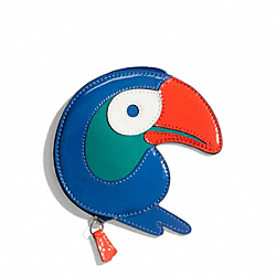 COACH TOUCAN COIN PURSE - ONE COLOR - F65637