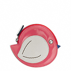 COACH BIRD COIN PURSE - ONE COLOR - F65639