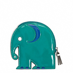 COACH ELEPHANT COIN PURSE - ONE COLOR - F65640