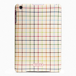 COACH PEYTON TATTERSALL MOLDED MINI IPAD CASE - ONE COLOR - F65644