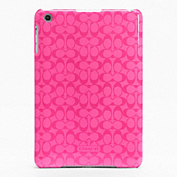 COACH SIGNATURE MOLDED MINI IPAD CASE - ONE COLOR - F65648