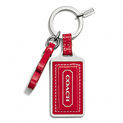 COACH PARK HANGTAG KEY RING - ONE COLOR - F65745