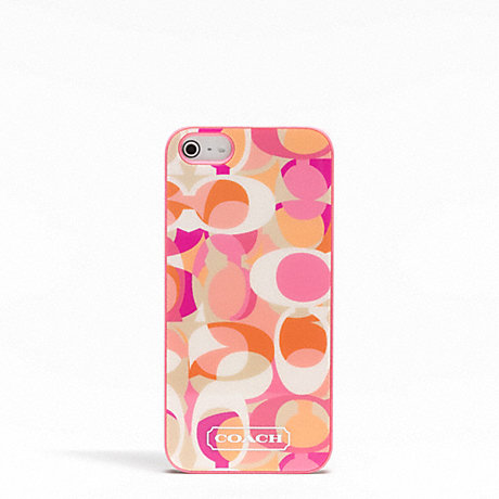 COACH DAISY KALEIDOSCOPE PRINT IPHONE 5 CASE -  - f65896