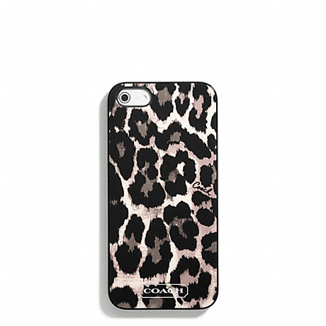 COACH PARK OCELOT PRINT IPHONE 5 CASE -  - f65903