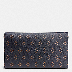 COACH UNIVERSAL PHONE CASE IN FOULARD PRINT COATED CANVAS - DIAMOND FOULARD - F65975