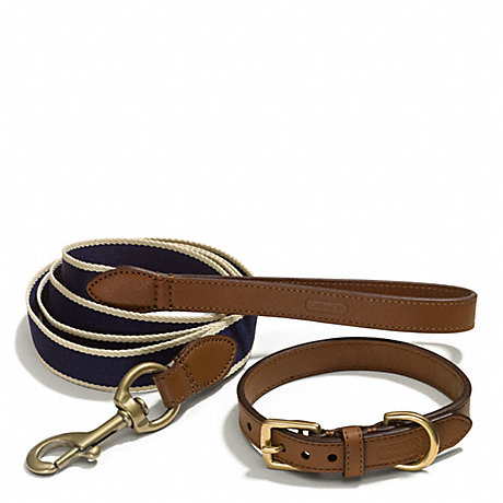 Coach Dog Collar And Leash