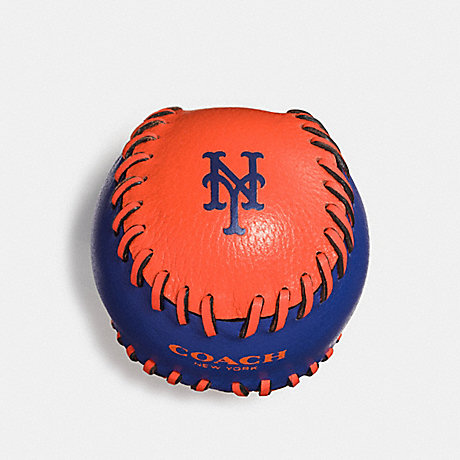 COACH MLB PAPERWEIGHT - NY METS - f66093