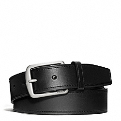 COACH HAMPTONS SMOOTH LEATHER BELT - ONE COLOR - F66101