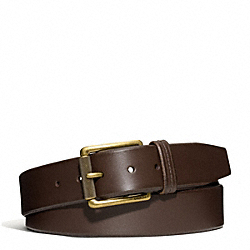 COACH HAMPTONS OVERSIZED SMOOTH LEATHER BELT - ONE COLOR - F66102