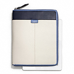 DAISY SPECTATOR LEATHER ZIP IPAD CASE - f66156 - 15414