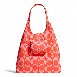 COACH PARK SIGNATURE FOLDING TOTE - ONE COLOR - F66180