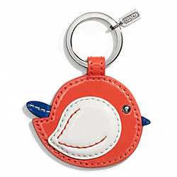 COACH BIRD MOTIF KEY RING - ONE COLOR - F66277