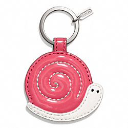 COACH SNAIL MOTIF KEY RING - ONE COLOR - F66278
