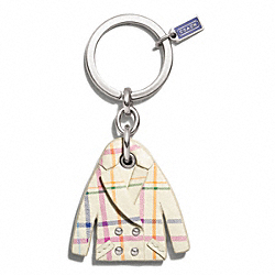 TATTERSALL PEACOAT KEY RING COACH F66326