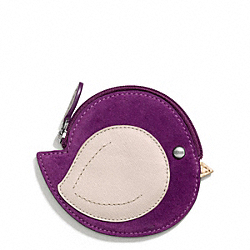 COACH BIRD MOTIF COIN PURSE - ONE COLOR - F66418