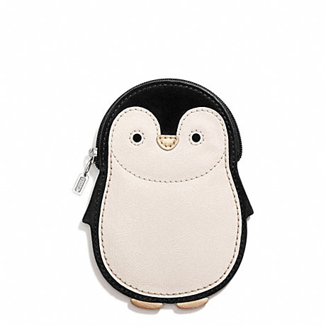 COACH f66420 PENGUIN MOTIF COIN PURSE