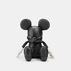 SMALL MICKEY DOLL - BLACK - COACH F66519