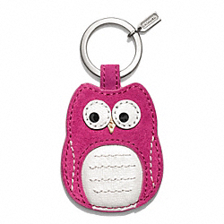 COACH OWL MOTIF KEY RING - ONE COLOR - F66658