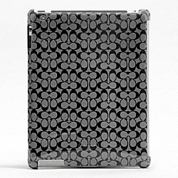 COACH SIGNATURE MOLDED IPAD CASE - ONE COLOR - F66676