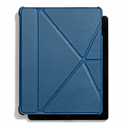 COACH BLEECKER LEATHER IPAD 4 CASE - ONE COLOR - F66725