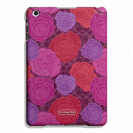 COACH CAMPBELL FLORAL PRINT MOLDED MINI IPAD CASE -  - f66783