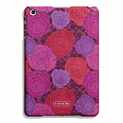 CAMPBELL FLORAL PRINT MOLDED MINI IPAD CASE COACH F66783