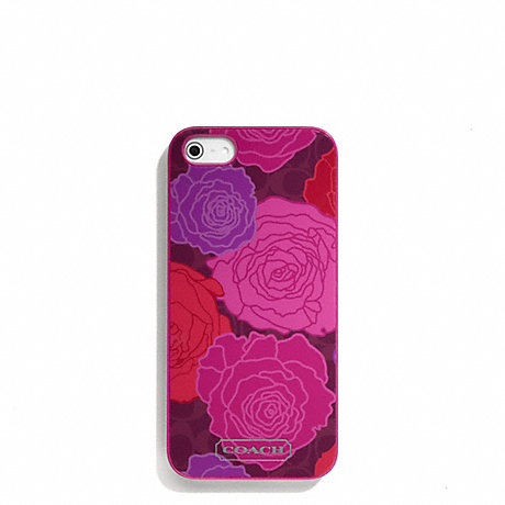 COACH CAMPBELL FLORAL PRINT IPHONE 5 CASE -  - f66786
