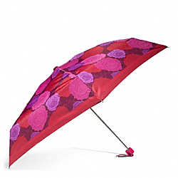 CAMPBELL FLORAL PRINT MINI UMBRELLA COACH F66789