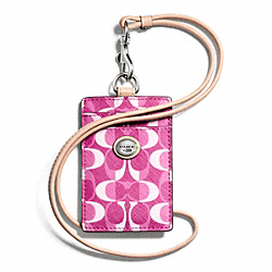 PEYTON DREAM C LANYARD ID COACH F66799