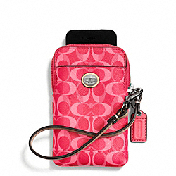 PEYTON DREAM C UNIVERSAL PHONE CASE COACH F66803
