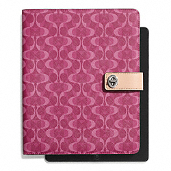 COACH PEYTON DREAM C TURNLOCK IPAD CASE - ONE COLOR - F66804