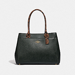 CASEY TOTE - IVY/IMITATION GOLD - COACH F66888