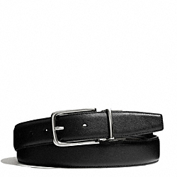 COACH HARNESS TEXTURED LEATHER CUT TO SIZE REVERSIBLE BELT - ONE COLOR - F66916