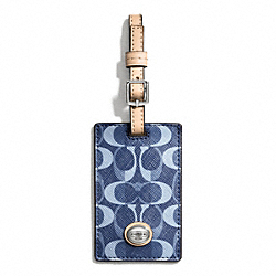 PEYTON DREAM C LUGGAGE TAG COACH F66939
