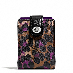 COACH SIGNATURE STRIPE OCELOT PRINT PLAYING CARDS - ONE COLOR - F66946