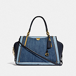 DREAMER 36 IN COLORBLOCK - B4/MEDIUM DENIM - COACH F66979