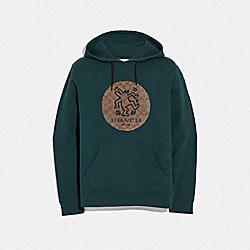 KEITH HARING HOODIE - HOLLY - COACH F67012