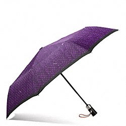 COACH TAYLOR SNAKE PRINT UMBRELLA - ONE COLOR - F67017