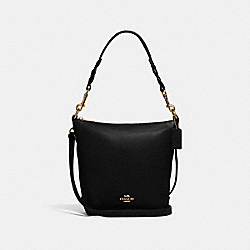 MINI ABBY DUFFLE - IM/BLACK - COACH F67025