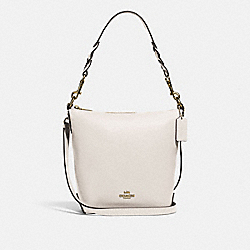 MINI ABBY DUFFLE - IM/CHALK - COACH F67025