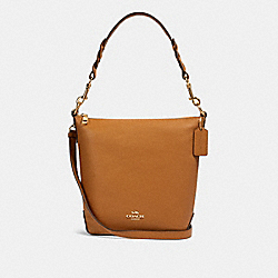 MINI ABBY DUFFLE - IM/LIGHT SADDLE - COACH F67025