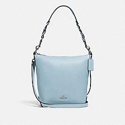 MINI ABBY DUFFLE - SV/PALE BLUE - COACH F67025