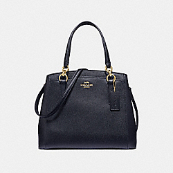 MINETTA CROSSBODY - MIDNIGHT/IMITATION GOLD - COACH F67091