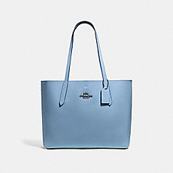 SMALL HUDSON TOTE - CORNFLOWER - COACH F67253