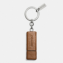 BLEECKER LEATHER USB DRIVE - f67257 - FAWN
