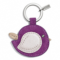 COACH BIRD MOTIF KEY RING - ONE COLOR - F67434