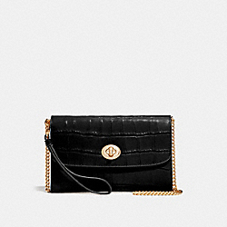 CHAIN CROSSBODY - BLACK/IMITATION GOLD - COACH F67503