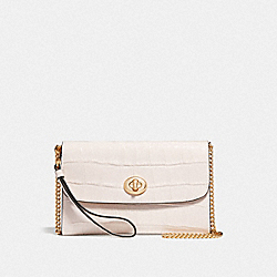 CHAIN CROSSBODY - CHALK/IMITATION GOLD - COACH F67503