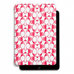 COACH PEYTON DREAM C IPAD MINI TRIFOLD CASE - WHITE POMEGRANATE - F67827
