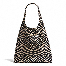 COACH ZEBRA PRINT FOLDING TOTE - ONE COLOR - F67855